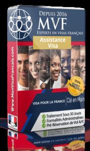 Service d'assistance pour la demande de visa pour la France