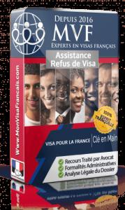 Service d'assistance pour le recours de refus de visa pour la France