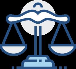 icône du service de plaidoirie de notre assistance de contestation de refus de visa
