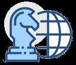 icône de la meilleure stratégie légale pour embaucher un salarié étranger