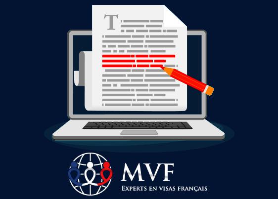 lettre explicative visa france